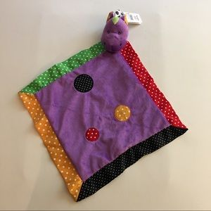 Security Blankie Horse Baby Ganz Colourful New